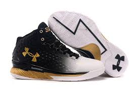 under armour shoes black and white. ua under armour stephen curry 1 one black silver gold white shoes and