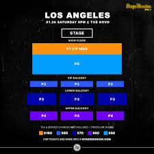 The Novo Seating Chart Row Cc Theater Seat Views Online Charts Collection