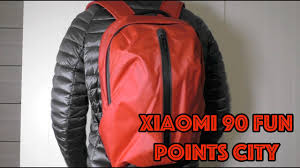 <b>Рюкзак Xiaomi 90</b> Fun <b>Points</b> City в необычном цвете - YouTube