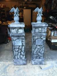Columns For Decorations 8 More Horrifically Haunting Halloween Decorations Homes And Hues