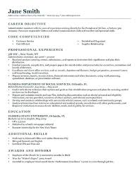 Writing A Good Objective For A Resume Writing An Objective For A Resume Wikirian Com