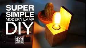 super simple modern desk lamp diy freaky fast 4x4 friday feature ep 2 you