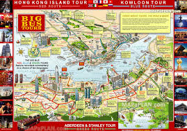 download hong kong map tourist attractions  major tourist