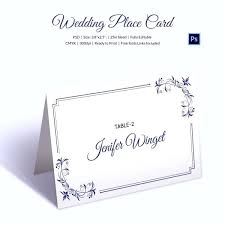Word Name Card Template Tent Cards Birthday Free Jjbuilding Info