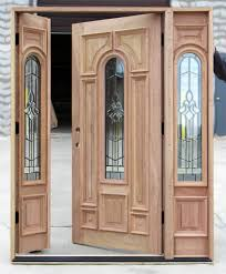 Beautiful Double Front Door With Sidelights Sidelight Opens Throughout Concept Design