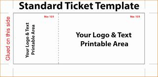 Free Ticket Generator Printable Theatre Ticket Template Ticket Generator Free Payslip In 7