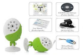 Egg-Go - WiFi Baby Monitor (Wireless Camera, 1/7 Inch CMOS ...