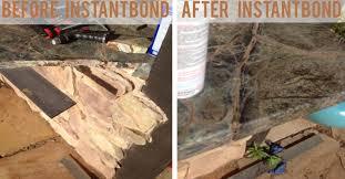 instantbond granite countertop repair