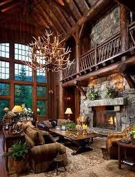 10 hunting lodge themed living room