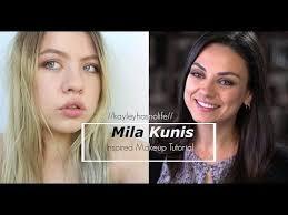 bad moms mila kunis amy inspired makeup tutorial brown smokey eye you