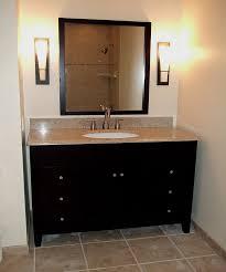 Bathroom Vanity With Vessel Sink    Furniture Sink Vanity 30 5 Foot Double Sink Vanity