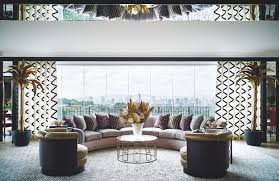 Dazzling Designers New York Inside Brazilian Designer Sig Bergamins Dazzling Colorful