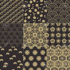 Japanese Pattern Awesome Japanese Pattern Royalty Free Cliparts Vectors And Stock