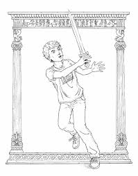 percy jackson coloring pages 10 s coloring sheets