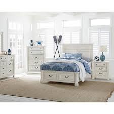 Langley Furniture Chesapeake Bay 3 Piece Full Bedroom Set in Antique ...