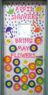 10 spring door decs for the clroom signup
