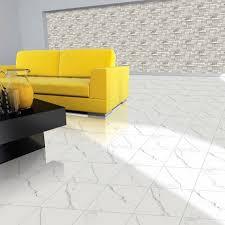 floor tiles design. Floor Tiles Design Living Room Set Up Yellow Sofa Black Coffee Table