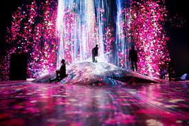 Tokyo Museum Of Light Digital Art Collective Teamlab Open Their First Permanent