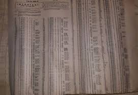 Hickok Tube Chart For Models 6000 And 6005 10 00 Picclick