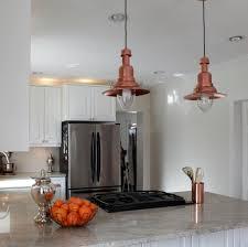 cottage pendant lighting. Kitchen Lighting Copper Pendant Light Bowl French Gold Cottage U