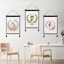 souq birthday party decor unicorn pattern tapestry wall hanging wall art tapestry for home decor uae
