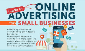 guide to online advertising for small businesses infographic  guide to online advertising for small businesses infographic