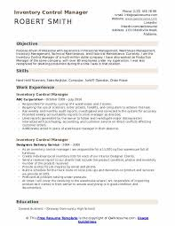 Supermarket Manager Resumes Inventory Control Manager Resume Samples Qwikresume