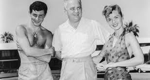 eddie fisher and debbie reynolds.  Eddie A Handout Photo Dated 1954 Made Available By The Las Vegas News Bureau  Shows US Actors To Eddie Fisher And Debbie Reynolds R