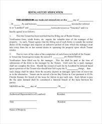 9 Rent Verification Letter Hvac Resumed