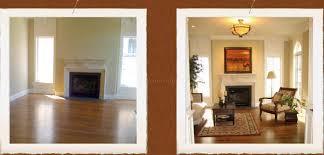 Living Room Staging Remodelling