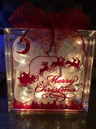 lighted glass block decoration by diy decorations