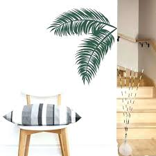 palm tree wall art palm tree wall decals palm tree wall art new palm leaf wall palm tree wall art