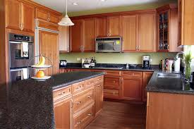 Small Picture Kitchen Design With White Appliances Trendy Natural Maple Kitchen
