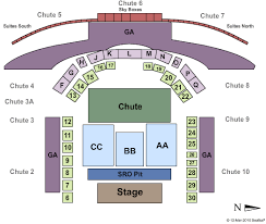 Stampede Rodeo Seating Chart 76 Organized Greeley Stampede Seating Map