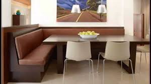 Dining Room  Corner  Dining Nook Set Bench Breakfast Kitchen - Dining room corner bench