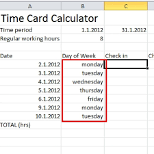 Hours Worked Calculator Time Card Calculator Excel Tutorial Download Free Excel For How 2