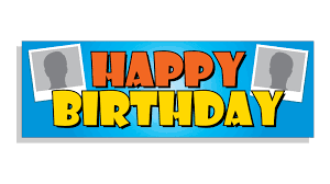 Happy Birthday Banners Personalized Custom Birthday Banner Banner Man Co Uk