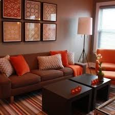 room budget decorating ideas: living room decorating ideas on a budget living room brown and orange design pictures