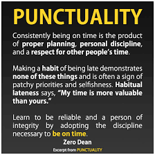 on punctuality essay on punctuality