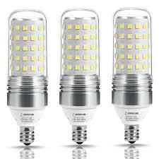 lohas 100w equivalent led candelabra light bulbs12w led corn bulb throughout sizing 1200 x 1200