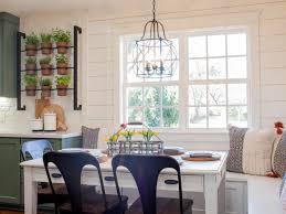 nook lighting. Light Fixture For Kitchen Nookfixer Uppers Dreamiest Breakfast Nooks Hgtvs Decorating Nook Lighting O