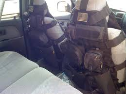 trd seat covers 4runner efficient organization system for a smaller vehicle firearm