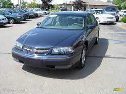 2002 Navy Blue Metallic Chevrolet Impala LS #13941579 Photo #13 ...