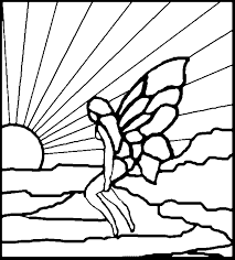 Easy Stained Glass Patterns Interesting Free Fantasy Patterns For Stained Glass