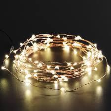 com oak leaf solar powered string light 19 6 ft 120 led starry string lights outdoor indoor waterproof copper wire decoration lights for garden