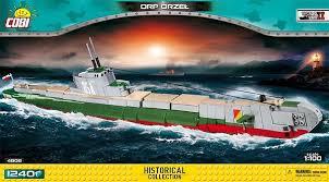 Польская подводная лодка <b>ORP</b> Orzel. <b>COBI</b>-4808.