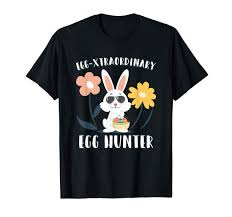 Amazon Com Egg Xtraordinary Easter Egg Hunter T Shirt