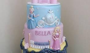 Princess Birthday Cake Design For Girls Best 25 Disney Princess