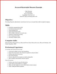 accounts receivable resume best business template intended for accounts  receivable resume sample 3370