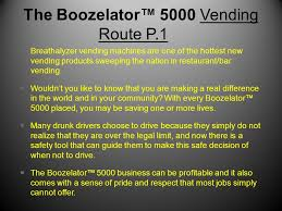 Breathalyzer Vending Machine Business Best The Boozelator™ 48 Breathalyzer Vending Business By Blo Dad Sons